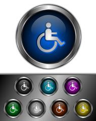 icones boutons handicapé