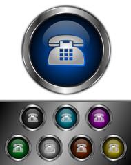 icones boutons téléphone