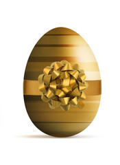 Luxury style easter egg