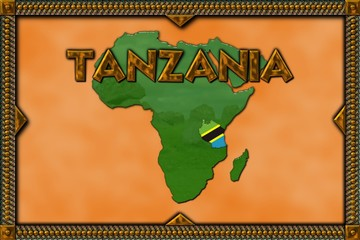 African illustration - Tanzania
