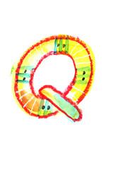 アルファベット大文字Q