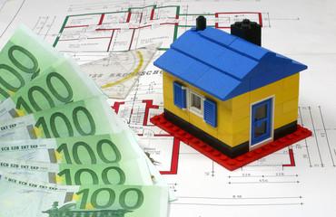 Symbolbild - Hausbau Finanzierung