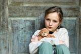 Sad little girl - Fine Art prints