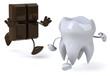 Dent et chocolat