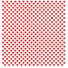 Herzseite mit sw Herz