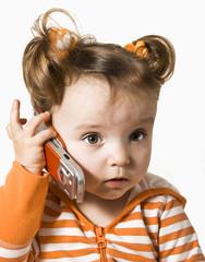 operator is on telephone