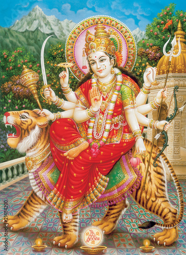 INDIAN GODESS MAA DURGA