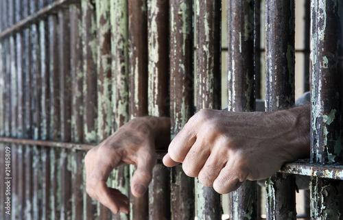 Staande foto Vestingwerk Jasper County Jail