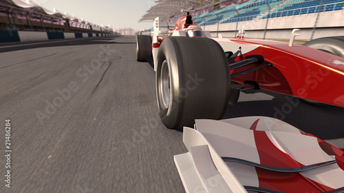 Poster F1 formula one race car
