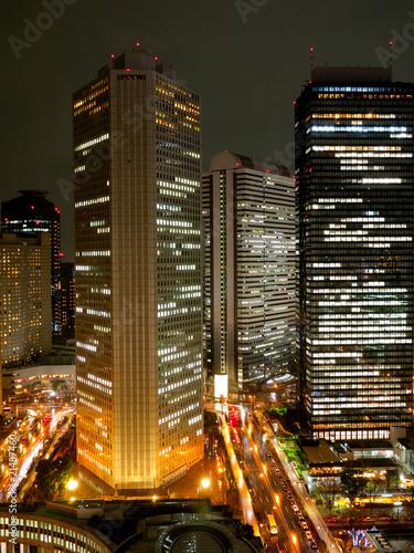 東京 新宿の夜景