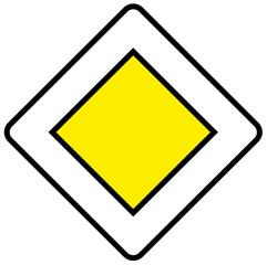 route prioritaire