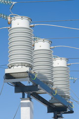 High-voltage equipment.