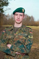 junge Soldat