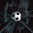 Broken Glass 2 Soccer Ball