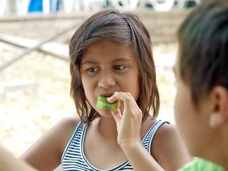 eating fruits