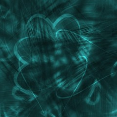 cyan abstract background