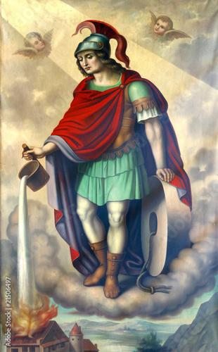 Leinwandbild Motiv Saint Florian