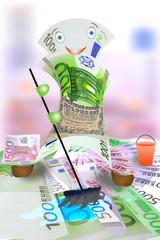 Money wash money