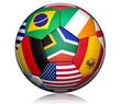Football world cup 2010 ball