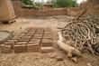 ségou, fabrique de briques