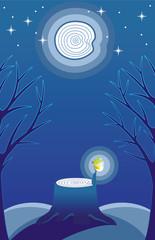 FireFly in Moonlight