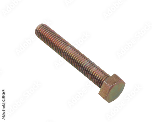 Screw. Isolated on a white background