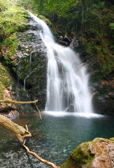 Xorroxin waterfall (Baztan Valley, Navarra, Spain)