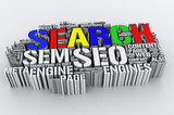 Search Engines and SEO (Search engine optimization) poster