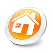 Orange 3d home button
