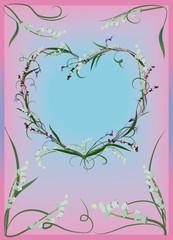 Florish heart