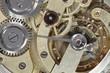 Leinwandbild Motiv Uhrmechanik