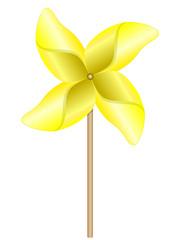 Eolienne jaune