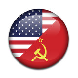Chapa guerra fria USA - URSS poster