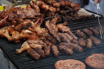 carne al mercato