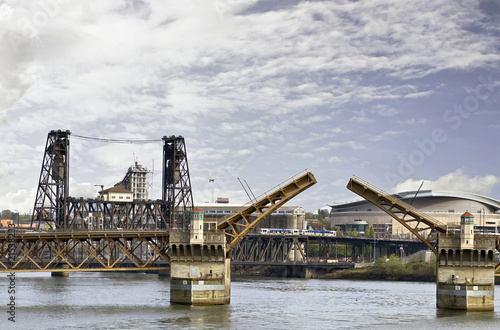 City Bridges Over RIver