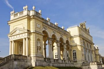 Gloriette in Schönbrunn zur Osterzeit