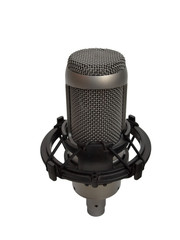 studio vocal microphone isolated 2