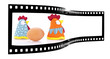 chicken and egg film strip