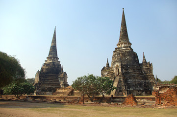 Ancient Buddhist temples