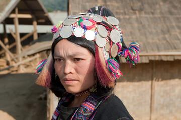 ethnische Gruppe Silo in Laos
