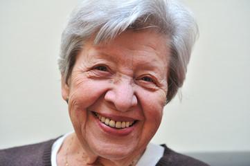 Senior Woman Laughing 9