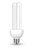 Energy efficient light bulb poster