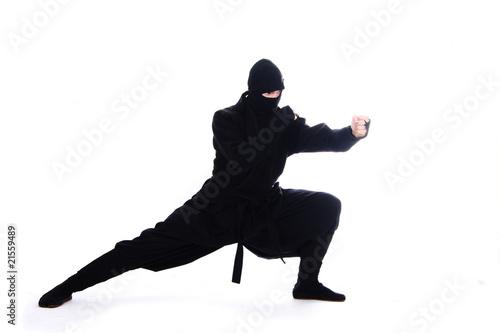 Leinwanddruck Bild ninja