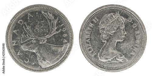 canadian quarter dollar