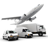 Fototapety Transportation fleet