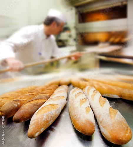 Staande foto Bakkerij boulangerie