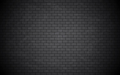 Grunge bricked wall background.