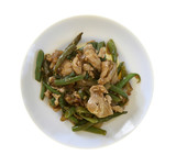 Chinese Food - Chicken and Green Beans