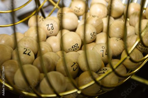 Boule de loto - 21577644