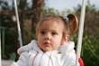 portrait de petite fille agée de 20 mois
